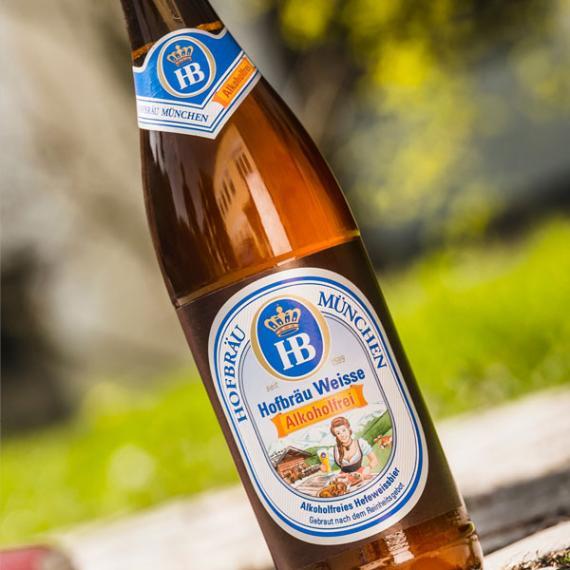Hofbräu Weisse alkoholfrei